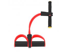 Эспандер для мышц ног, рук и груди Красный фото 1