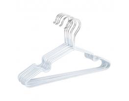 Набор детских металл. вешалок Белый(10 шт) фото 1