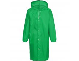 Плащ-дождевик зелёный фото 3