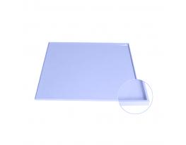 Коврик антипригарный силикон с бортиками Голубой фото 1