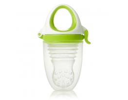 Ниблер силиконовый для кормления малыша с футляром Салатовый фото 6