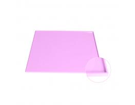 Коврик антипригарный силикон с бортиками Сиреневый фото 1