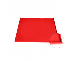 Коврик антипригарный силикон с бортиками Красный фото 1