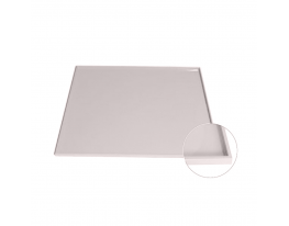 Коврик антипригарный силикон с бортиками Серый фото 1