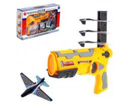 Пистолет «Планер», стреляет самолётом фото 7