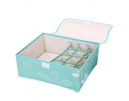 Ящик-органайзер для белья 7 секций Синий фото 1
