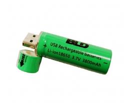 Батарейка BATTERY USB18650 c USB зарядкой фото