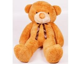 Плюшевый медведь Тедди 200 см Карамельный фото 2