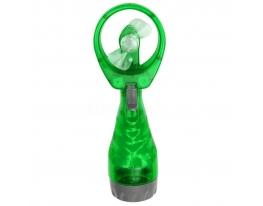 Ручной вентилятор с увлажнителем Water Spray Fan Зелёный фото