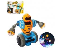 Танцующий светящийся робот Сool Robot Жёлтый фото
