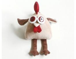 Мягкая игрушка Петушок бежевый фото 3