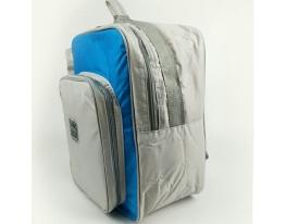 Терморюкзак с автономным отделом для термоса Голубой фото