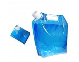 Складная, походная канистра - пакет для воды 5л фото