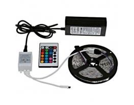 LED лента светодиодная RGB 5050 5 метров фото