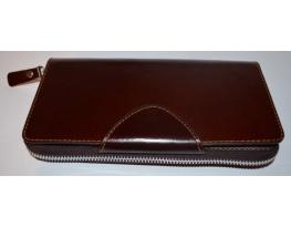 Кожаный клатч мужской ручной m011 фото