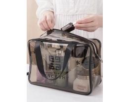 Прозрачная водонепроницаемая сумка-косметичка фото 1