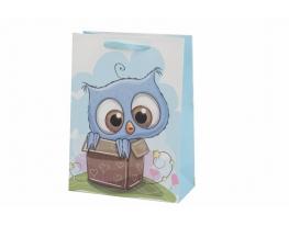 Пакет подарочный Совушка в коробке фото 1