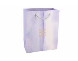 Пакет подарочный Amor es фиолетовый фото