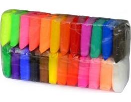Масса для лепки самозастывающая 24 цвета фото 5