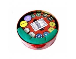 Покерный набор в Металической коробке 240 фото