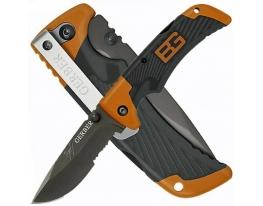Складной туристический нож для выживания Gerber фото