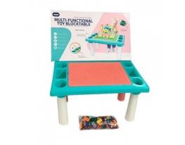 Игровой столик песочница с конструктором 300 деталей Best Toys фото