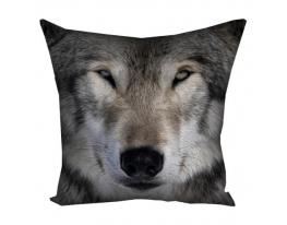 Подушка Волк фото