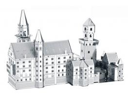3D конструктор Замок Нойшванштайн фото