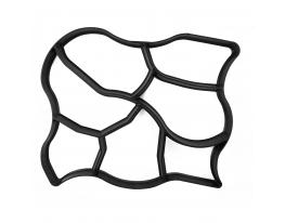 Форма пластиковая для тротуарных дорожек 60х50 см фото