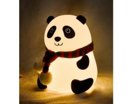 Настольный светильник Детский силиконовый ночник Панда фото
