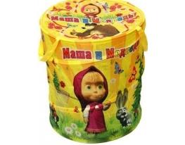 Корзина для игрушек Маша и медведь фото