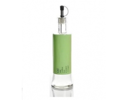 Стеклянная бутылка с дозатором для растительного масла и жидких приправ Зеленая фото 6