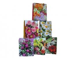 Пакет подарочный Цветы фото