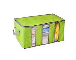 Органайзер - кофр для одежды Бамбук Зелёный фото