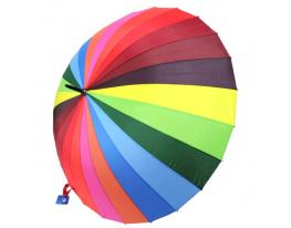 Зонт трость радуга 24 спицы фото
