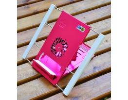Охлаждающая подставка-держатель для планшетов Розовая фото 2