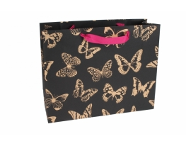 Пакет подарочный Бабочки фото