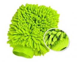 Микрофибровая варежка для уборки фото