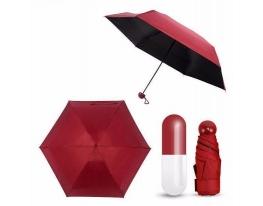 Мини-зонт Good Idea Umbrella Капсула в футляре Бордо фото