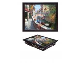 Поднос с подушкой Венеция фото
