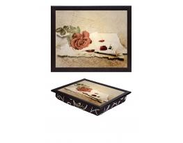 Поднос с подушкой Винтаж фото