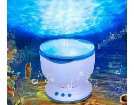 Ночник - проектор со спикером Океан фото