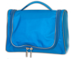 Дорожный органайзер для косметики Premium Голубой фото