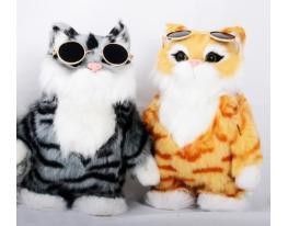 Говорящая игрушка Кот Марк повторюшка фото