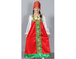 Детский карнавальный костюм Аленушка фото