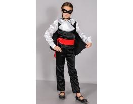 Детский карнавальный костюм Зорро фото 2