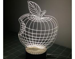Светильник Оптический обман яблока фото