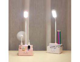 Led лампа настольная с PowerBank и вентилятором фото 4
