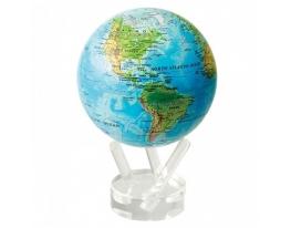 Самовращающийся глобус Физическая карта фото