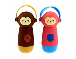Термос обезьянка в наушниках фото